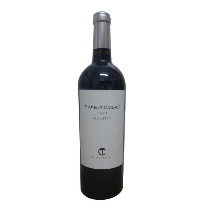 Thunevin Calvet 1977 Maury - Vin rouge du Languedoc Roussillon