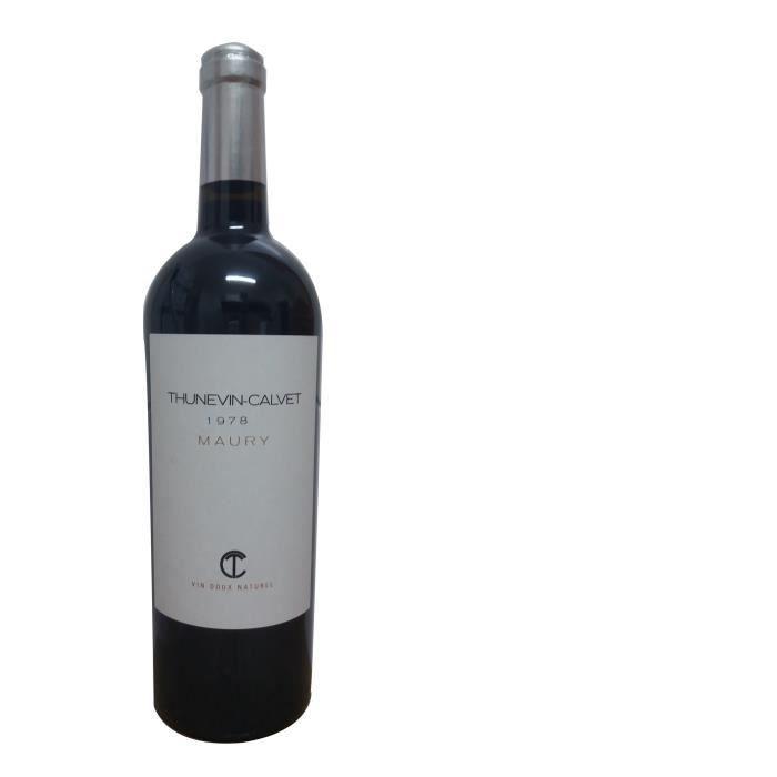 Thunevin Calvet 1978 Maury - Vin rouge du Languedoc Roussillon