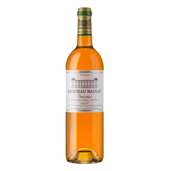 Château Nairac 1996 Sauternes Grand Cru - Vin blanc de Bordeaux