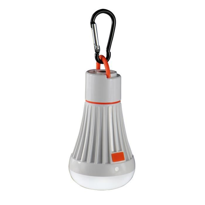 CAO CAMPING Lampe Forme Ampoule 1W Led + 6 Led