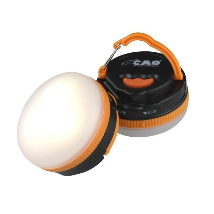 CAO CAMPING Lampe boule - 3 LED
