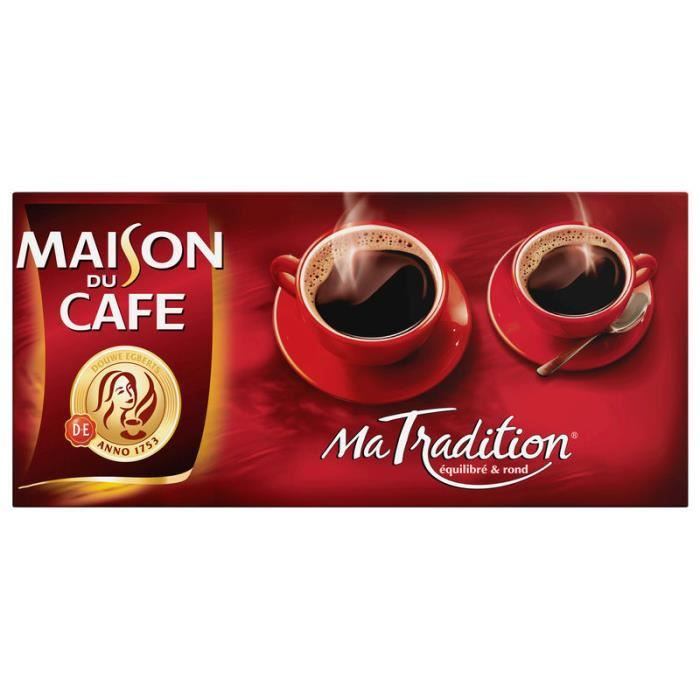 CAFE Moulu TRADITION MDC 4X250G PAL (X1)