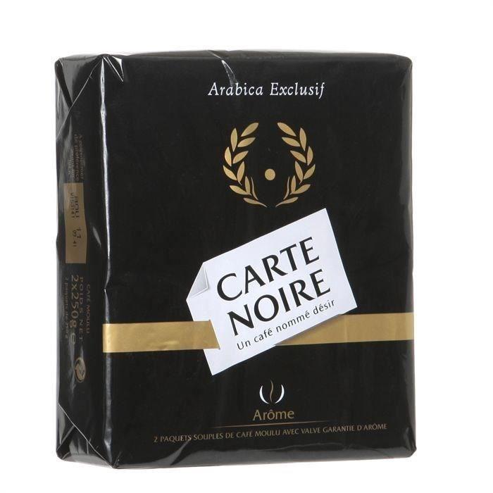 CARTE NOIRE Café moulu Classique 2x250g