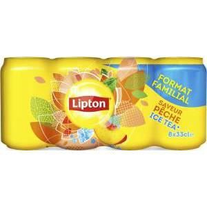 Lipton ice tea pêche 8x33cl