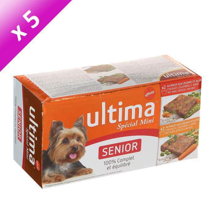 ULTIMA Chien Sublime Senior 4x150g (x5)