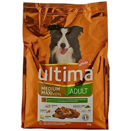 ULTIMA - Croquette Equilibe bien être - Pour chien - 2 kg.