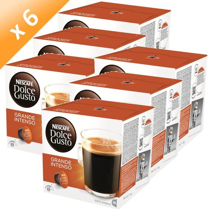 DOLCE GUSTO Grande Intenso 16 Capsules 160g (x6)