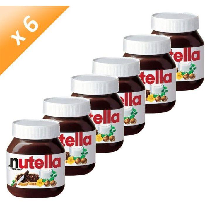 FERRERO Nutella Pot de 750g (x6)