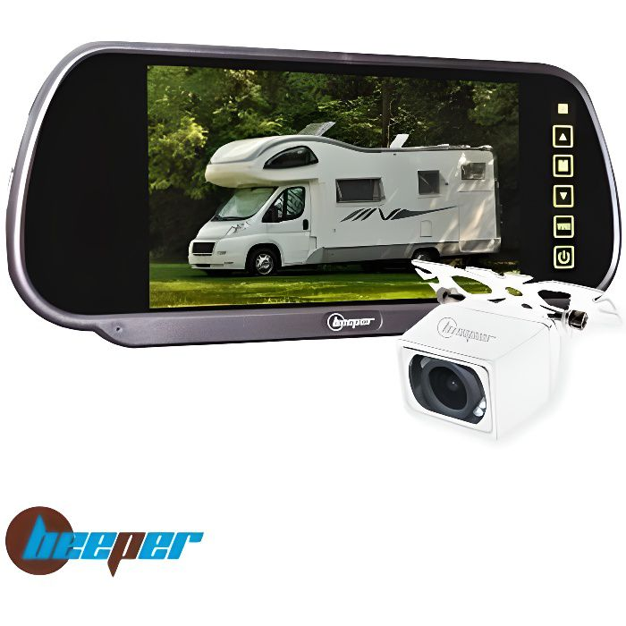 BEEPER Caméra de Recul Ecran 7- Rétro CC1