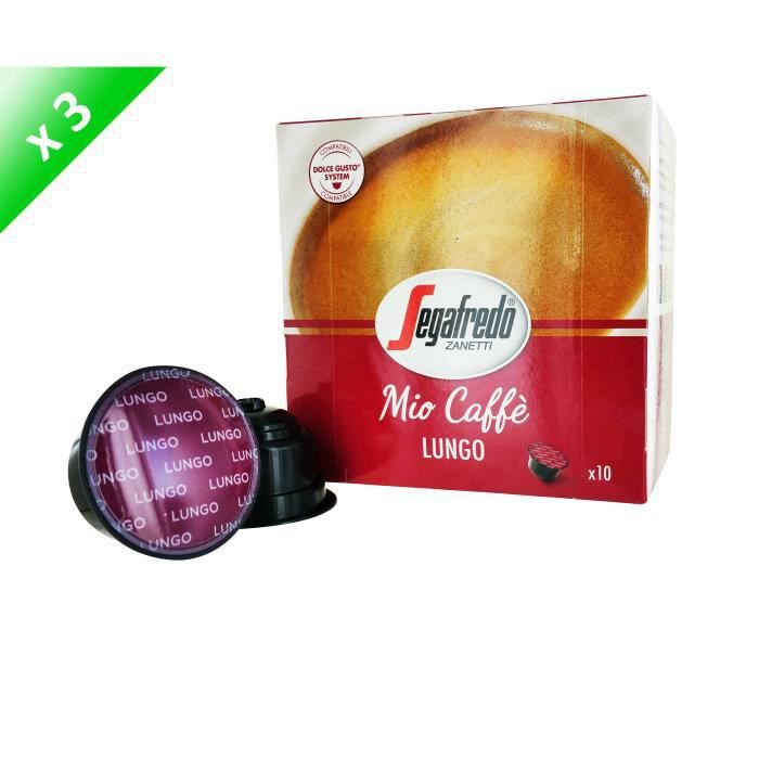 30 capsules MIO CAFFE Capsules Lungo Compatible Dolce Gusto