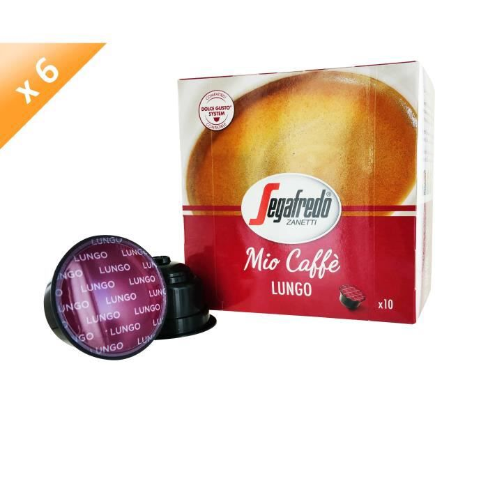 60 capsules MIO CAFFE Capsules Lungo Compatible Dolce Gusto