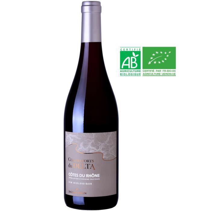 Contreforts du Delta 2017 Côtes du Rhône - Vin rouge de la Vallée du Rhône - Bio