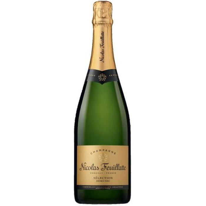 Champagne Nicolas Feuillatte Sélection Demi-sec - 75 cl