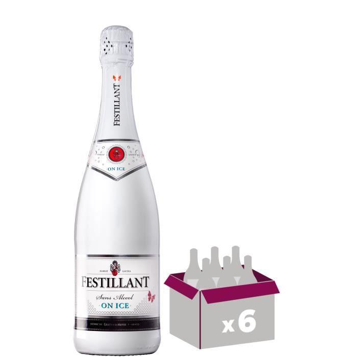 Festillant On Ice - Bulles sans alcool - 75 cl x 6