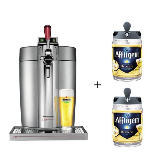 KRUPS VB700E00 Beertender Beertender Loft + 2 fûts Affligem