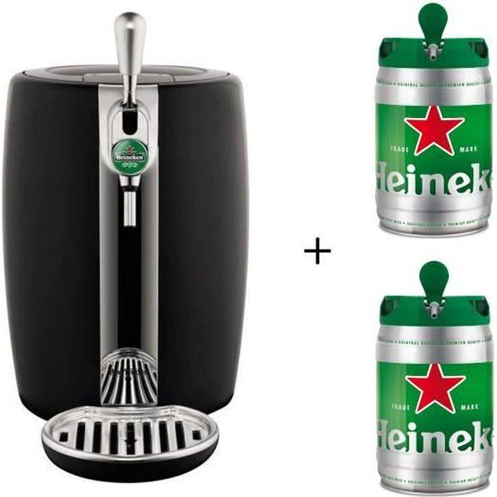 SEB VB310E10 Beertender machine à bière VB310E10 + 2 fûts Heineken