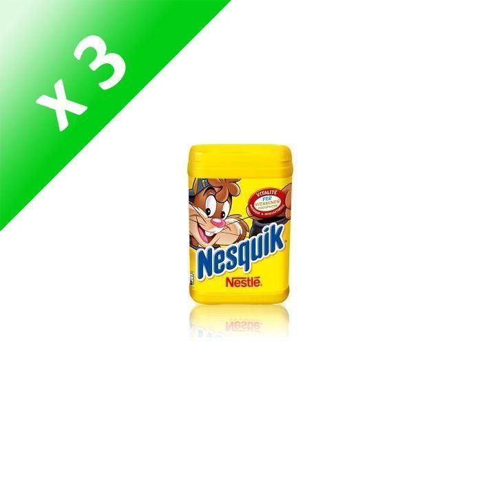 [LOT DE 3] Chocolat en poudre 1kg NESQUIK