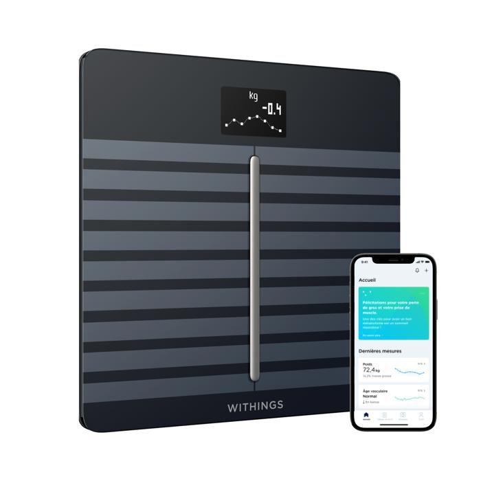 WITHINGS / NOKIA Body Cardio - Balance Wi-Fi avec composition corporelle et rythme cardiaque