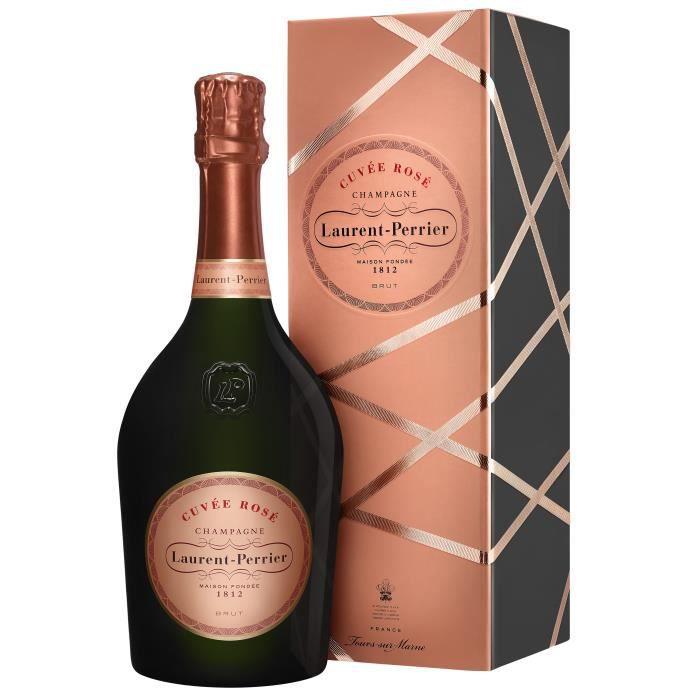 Champagne Laurent-Perrier Cuvée Rosé Coffret Standard 75 cl