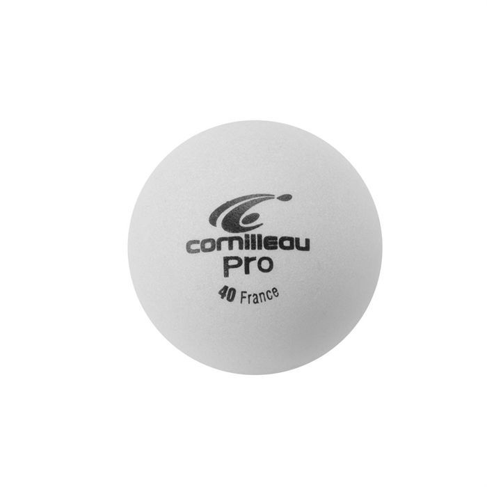 CORNILLEAU 6 Balles Pro blanches