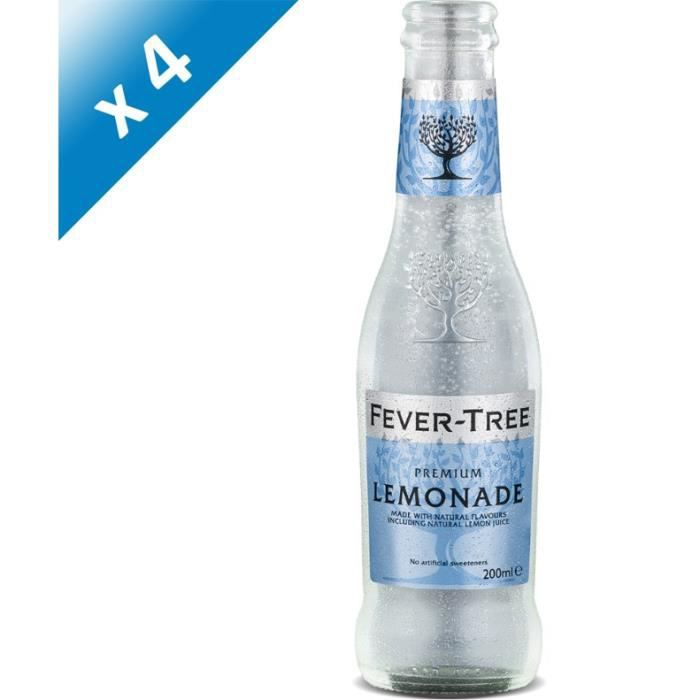 Fever-Tree - Premium Lemonade - Sodas - 4 x 20 cl