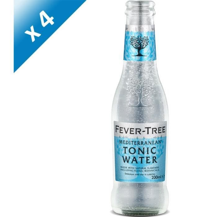 Fever-Tree - Mediterranean Tonic Water - Sodas - 4 x 20 cl