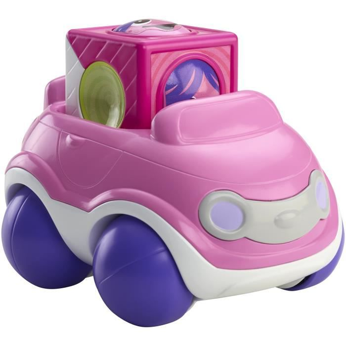 FISHER-PRICE Bloc véhicule voiture rose