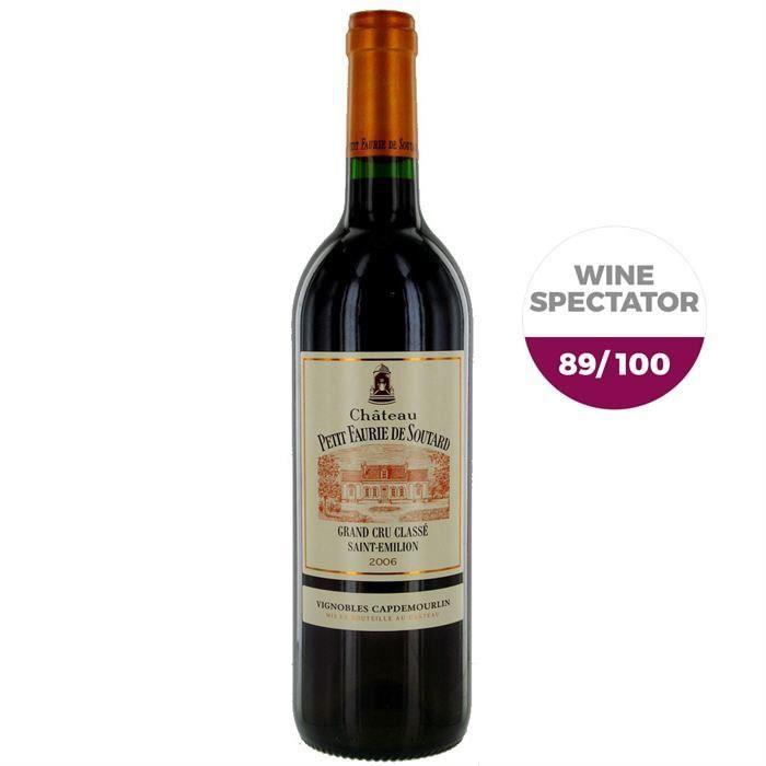 Château Petit Faurie de Soutard 2006 St Emilion Grand Cru - Vin rouge de Bordeaux