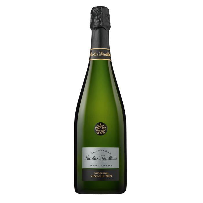Champagne Nicolas Feuillatte 100% Chardonnay 2009 Blanc de blancs Brut - 75 cl