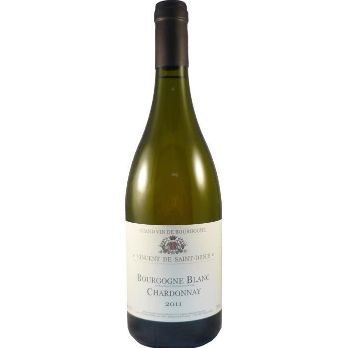 Vincent de Saint Denis 2011 Bourgogne - Vin blanc de Bourgogne