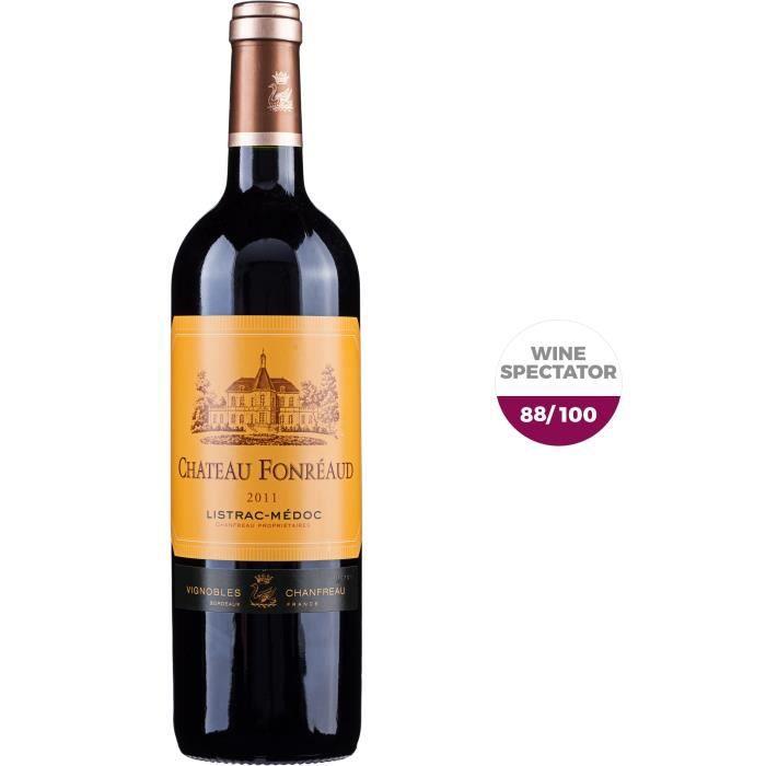 Château Fonréaud 2011 Listrac-Médoc - Vin rouge de Bordeaux