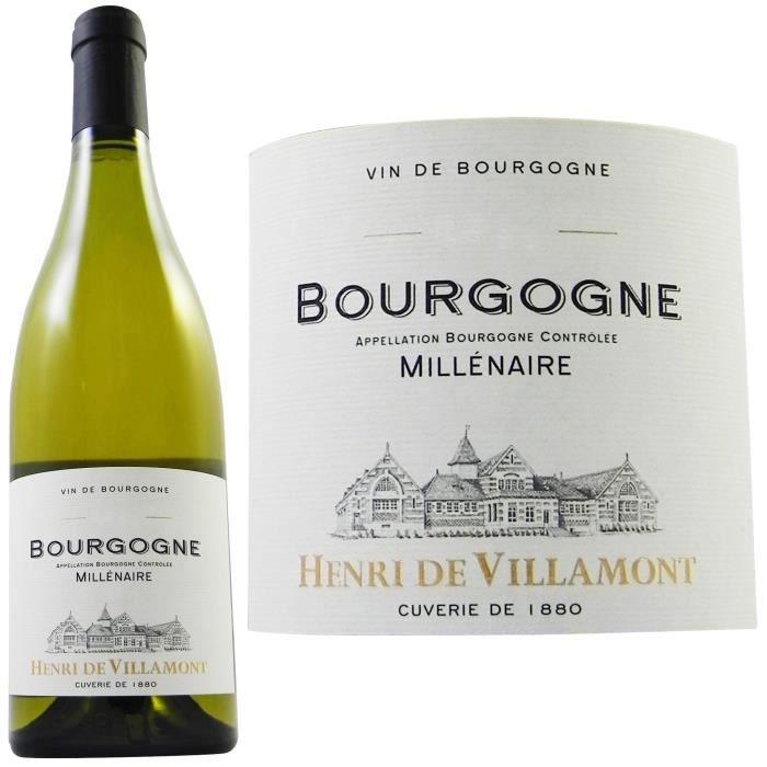 Henri de Villamont 2011 Bourgogne - Vin blanc de Bourgogne