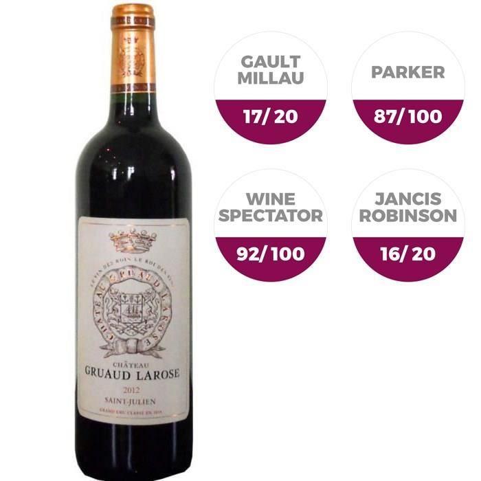 Château Gruaud Larose 2012 Saint-Julien - Vin rouge de Bordeaux
