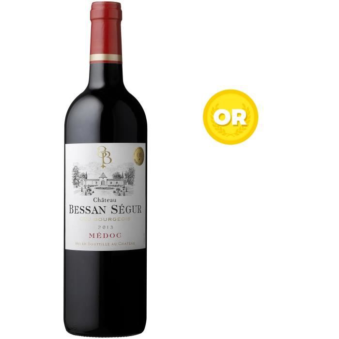 Château Bessan Ségur 2013 Médoc Cru Bourgeois - Vin rouge de Bordeaux