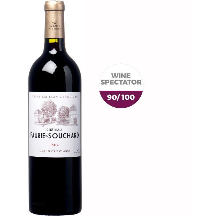 Château Faurie de Souchard 2014 Saint Emilion Grand Cru - Vin rouge de Bordeaux