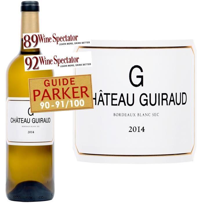 Château de Guiraud bordeaux 2017 - Vin blanc x1