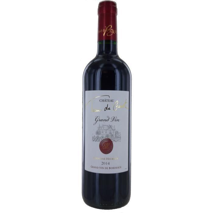 Château Tour De Guiet 2014 Côtes De Bourg - Vin Rouge de Bordeaux