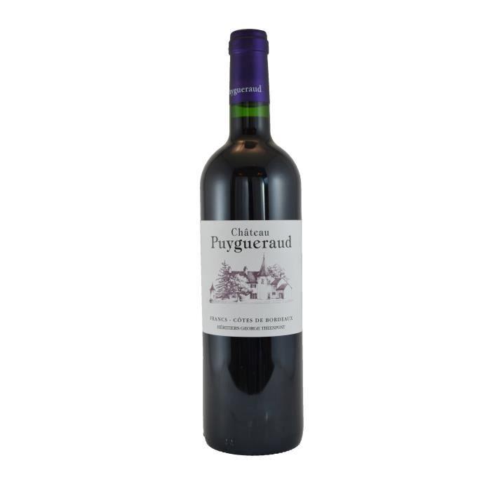 Château Puygueraud 2016 Francs Côtes de Bordeaux - Vin rouge de Bordeaux
