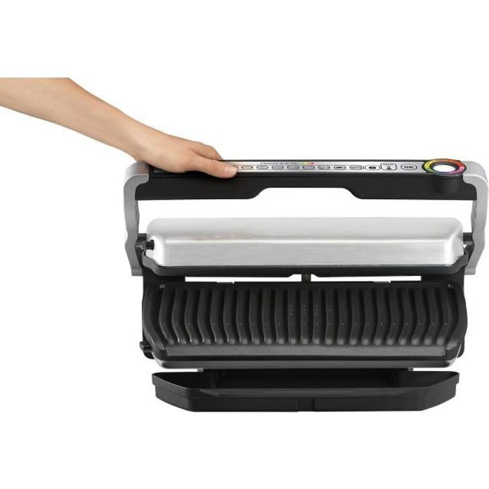 TEFAL GC722D16 Optigrill+ XL - Argenté