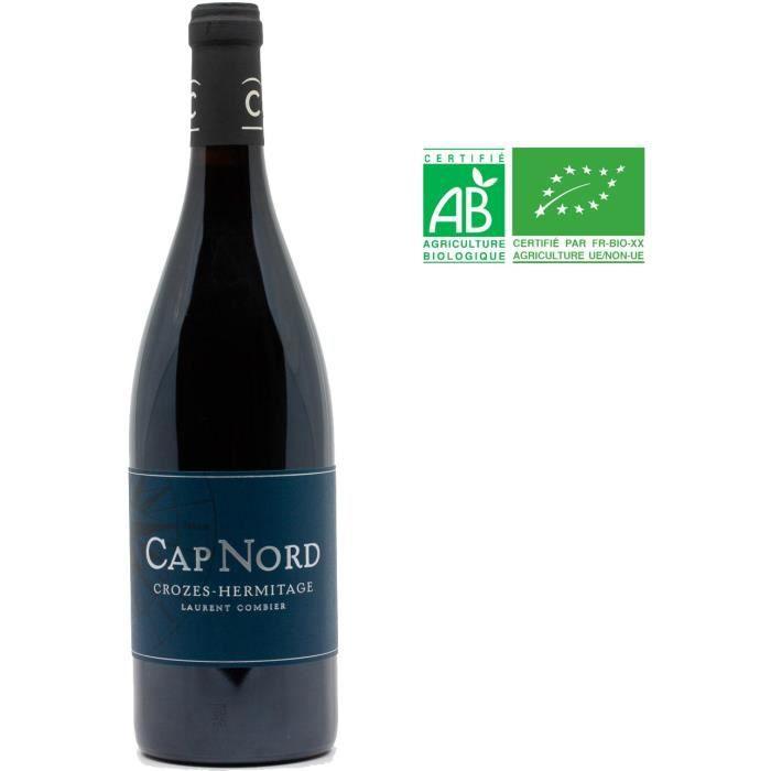 Cap Nord Domaine Laurent Combier 2017 Crozes Hermitage - Vin rouge de la Vallée du Rhône Bio