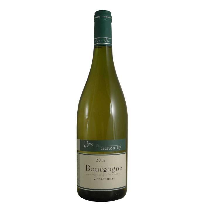 Cave de Genouilly 2017 Chardonnay - Vin blanc de Bourgogne