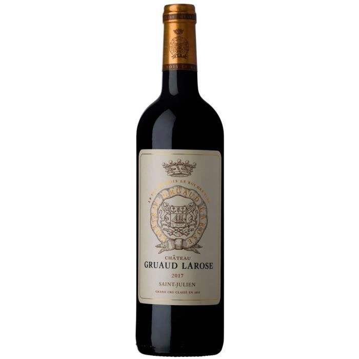 Château Gruaud Larose 2017 Saint-Julien Cru Classé - Vin rouge de Bordeaux