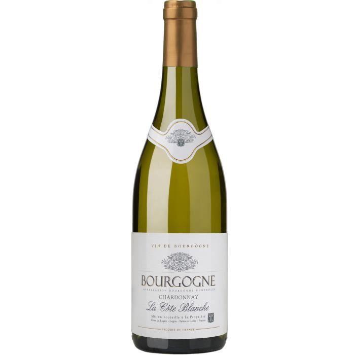 Cave de Lugny La Côte Blanche 2018 Bourgogne Chardonnay - Vin blanc de Bourgogne