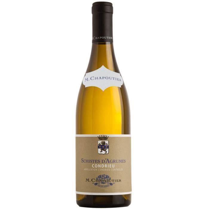 M. Chapoutier Schistes d'Agrumes 2018 Condrieu - Vin blanc de la Vallée du Rhône