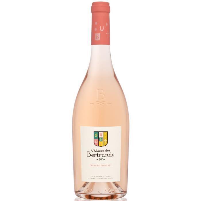 Château des Bertrands 2019 Côtes de provence - Vin rosé de Provence