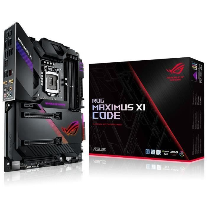 Carte mere Asus Maximus Xi Code, Intel Z390 Rog Sockel 1151 0,000000