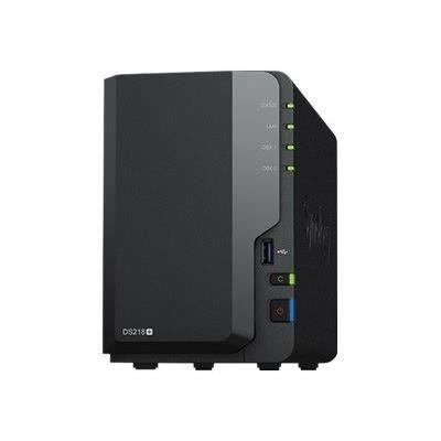 SYNOLOGY - Serveur de Stockage (NAS) - DS218+ - 2 Baies - Boitier nu