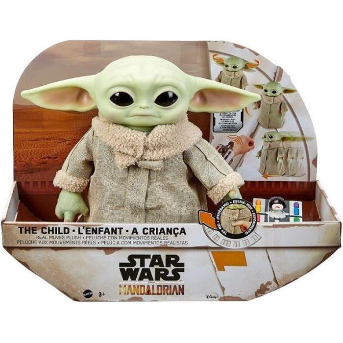 Star Wars - The Mandalorian Figurine peluche animée L'Enfant - Dès 3 ans