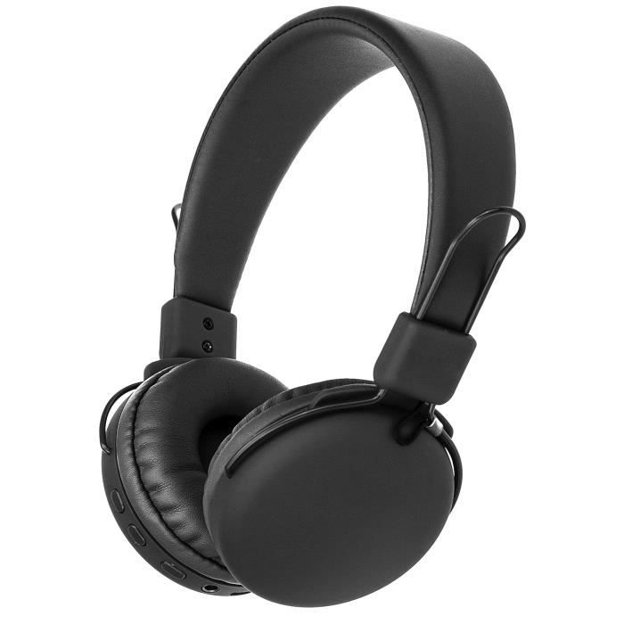 CONTINENTAL EDISON Casque Bluetooth Noir