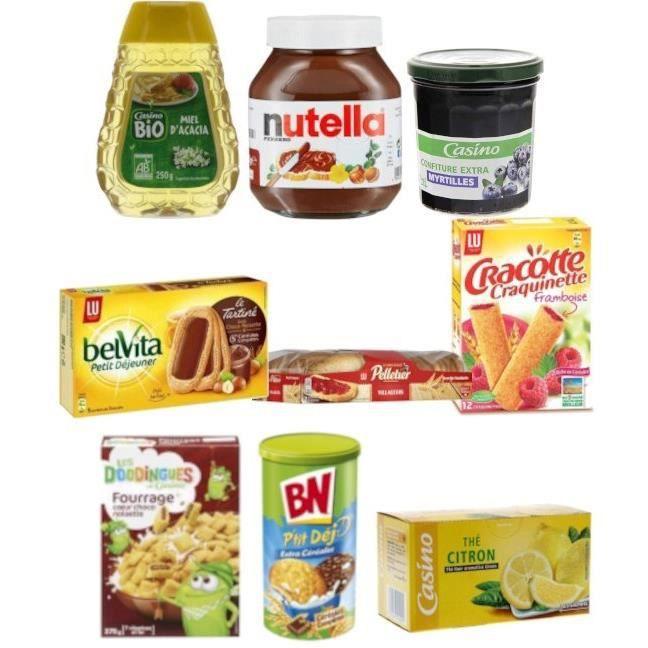 Kit complet pour petit déjeuner - 9 produits